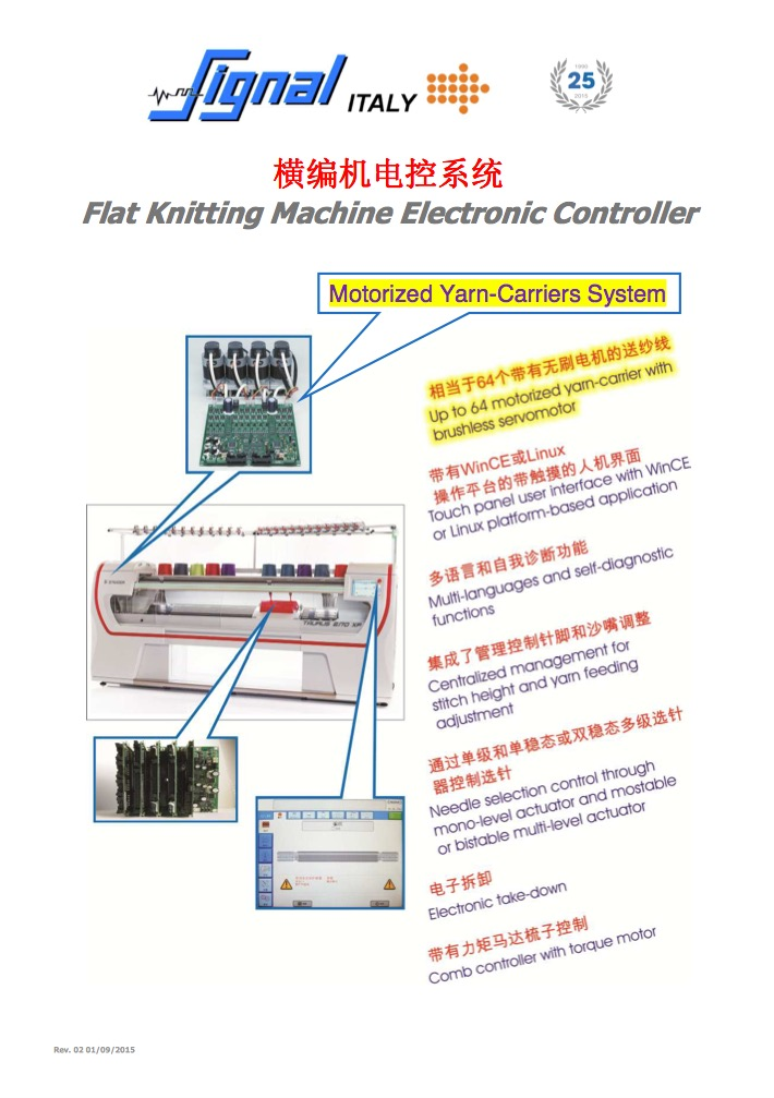 Flat Knitting Machine Electronic Controller China-part1